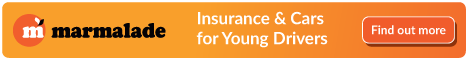 Marmalade young drivers insurance with gordon's motoring school